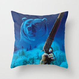 Them Wicked Woods Throw Pillow