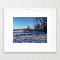 jane davenport Framed Art Prints featuring Davenport Park by CMCPhotography