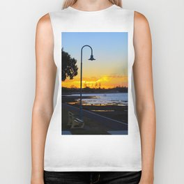 Wynnum Sunset Biker Tank