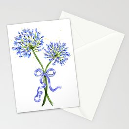 Lily of the Nile Bouquet Stationery Cards