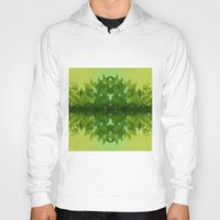leaf Hoodies featuring Leaf by Cs025