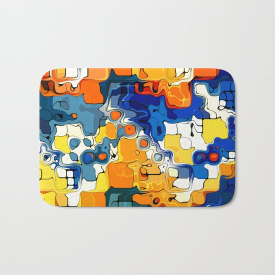 Creative Colors Design  Bath Mat
