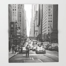 That New York Minute Throw Blanket