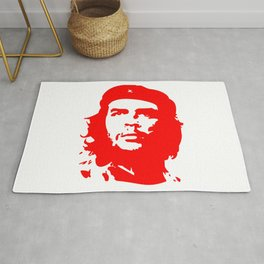 Che Guevara in Red Rug