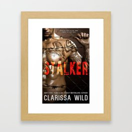 Stalker Cover Framed Art Print