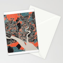 Southampton Multicoloured Print Stationery Cards