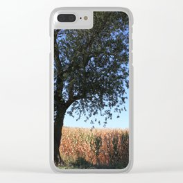 Corn Field in the Midwest Clear iPhone Case