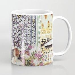 Henri Matisse - Moorish Screen - Exhibition Poster Coffee Mug
