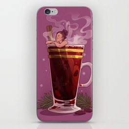 Mull it over iPhone Skin