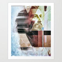 Jesus 2.0 Art Print