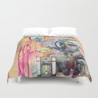 blush Duvet Covers featuring Blush by Katy Hirschfeld