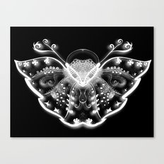ghost butterfly Canvas Print
