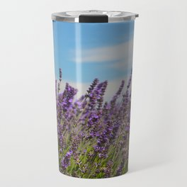 Lavender Field Travel Mug