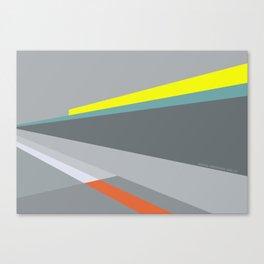 Berlin Perspectives - Erich-Weinert-Strasse / Schönhauser Allee Canvas Print