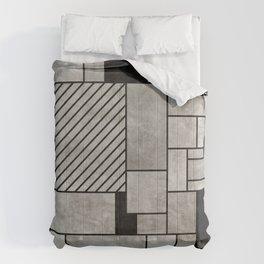 Random Concrete Pattern Comforters