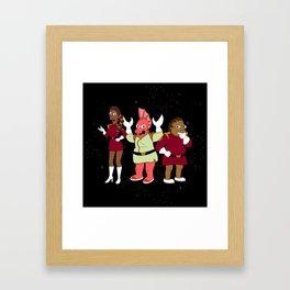 Nimbus Crew: Labarbara, Hermis and Zoidberg Framed Art Print