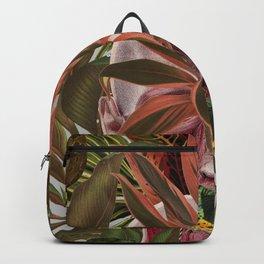 unspoken anatomical collage art by bedelgeuse Backpack