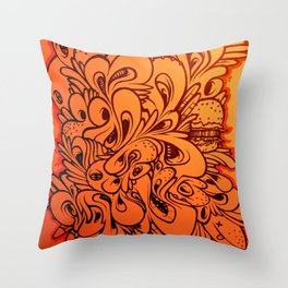 BlackBook Throw Pillow