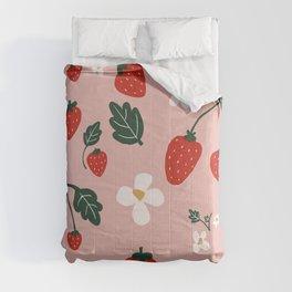 Strawberry Fields Comforters