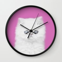 Lord Aries Cat - Photography 002 Wall Clock