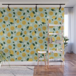 Summer Lemon Wall Mural