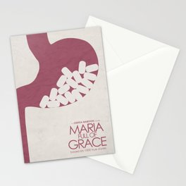 Maria Full of Grace, alternative movie poster, classic film, Joshua Marston, colombian, drug dealer Stationery Cards