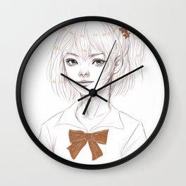 Yachi Hitoka Wall Clock