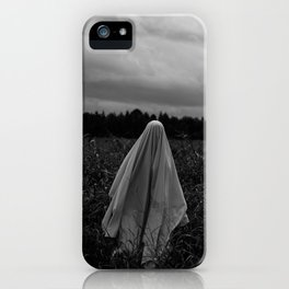 Ghost in the Field - Tall iPhone Case