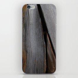 Wood Plank iPhone Skin
