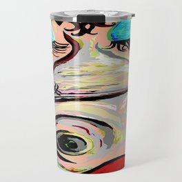 Lipstick on a Pig Travel Mug