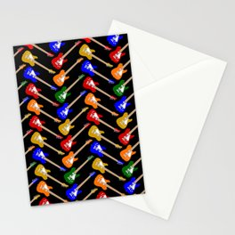 Guitar Candy Stationery Cards