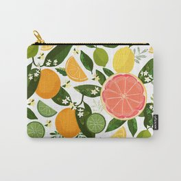 Punch Bowl Pattern Carry-All Pouch