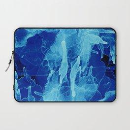 Microcosmos Azul Laptop Sleeve