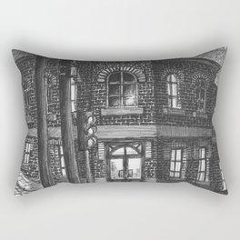 Downhill street Rectangular Pillow