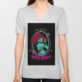 Zombie Mermaid Unisex V-Neck