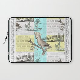 Paris Cockatoo's Colonial Dream Laptop Sleeve