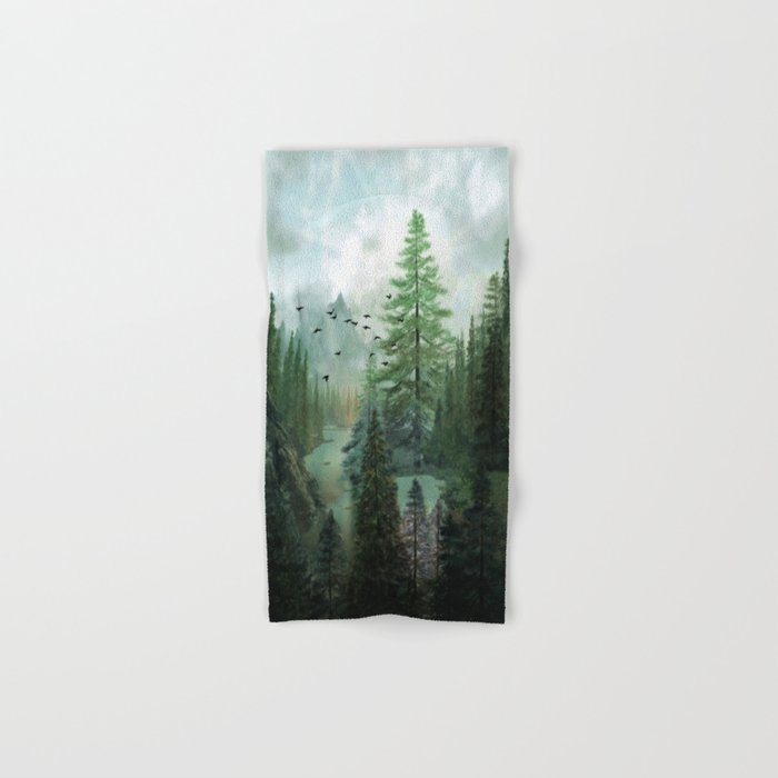 Mountain Morning 2 Hand & Bath Towel