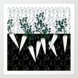 Parsley energy Art Print