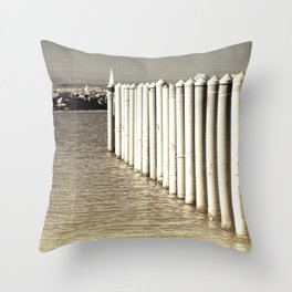 Alignement Throw Pillow