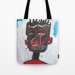 Red Boy after Basquiat Tote Bag