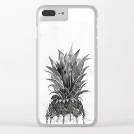 Pineapple art Clear iPhone Case