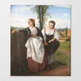 George Adolphus Storey(British, 1834-1919)The Love Letter, 1861 Canvas Print