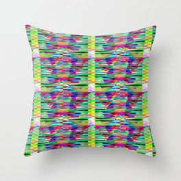 Geometrical-colorplay-pattern #3 Throw Pillow