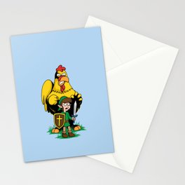 The Legend of Ernie (light background) Stationery Cards
