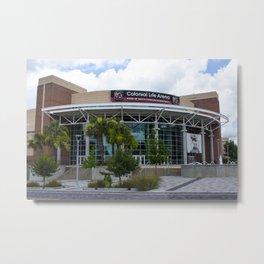 Colonial Life Arena, Columbia, SC Metal Print