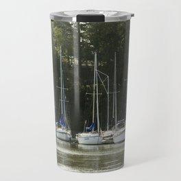 Sail Boats Travel Mug