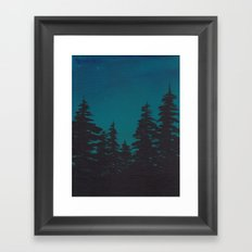 Night is Falling Framed Art Print