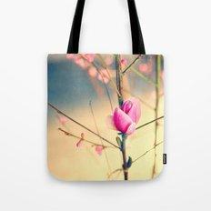 Textured Bloom Tote Bag
