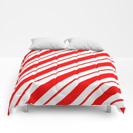 Peppermint Stripes Comforters