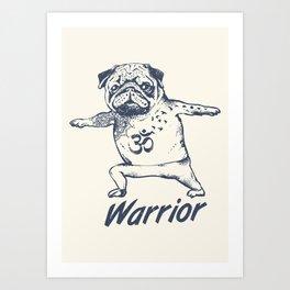 Be a Warrior Art Print
